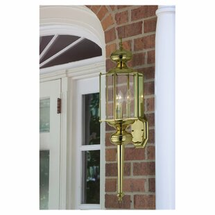 Alcott Hill Redfern Classic 1-Light Outdoor Sconce