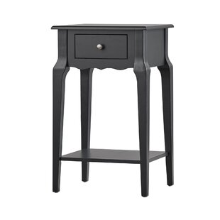 Three Posts Hague End Table With Storage