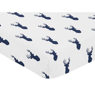 Shopping for Woodland Deer Fitted Crib Sheet BySweet Jojo Designs