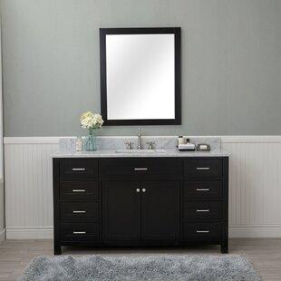 Shop For Costin 60 Single Bathroom Vanity Set with Mirror ByRed Barrel Studio