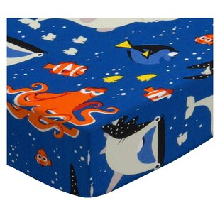 Great choice Finding Nemo and Dory Fitted Crib Sheet By Sheetworld