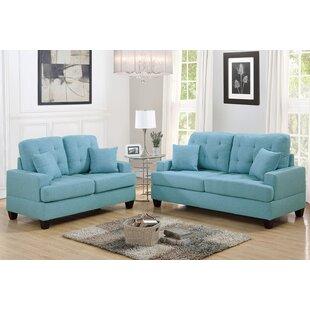 Saphira 2 Piece Living Room Set by Winston Porter