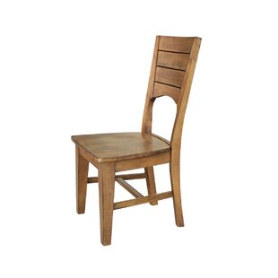 San Jose Solid Wood Dining Chair (Set of 2) Loon Peak