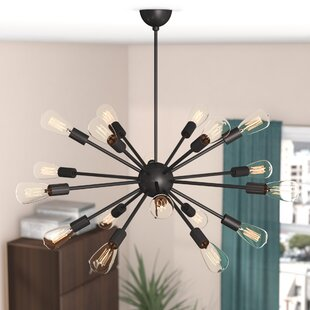 Read Reviews Mohamed 18-Light Sputnik Chandelier By Langley Street