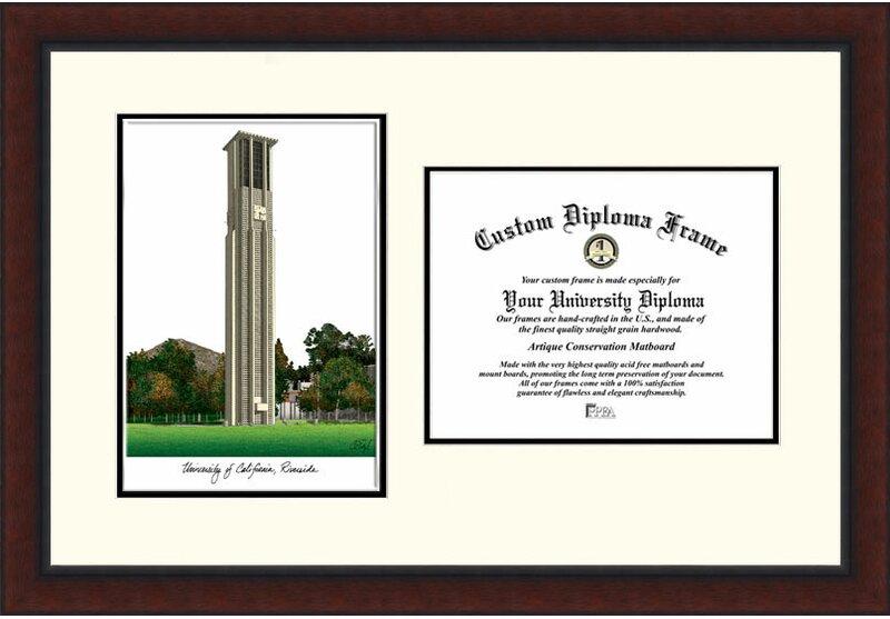 Campus Images Ncaa Uc Riverside Legacy Scholar Picture Frame Memorabilia Wayfair
