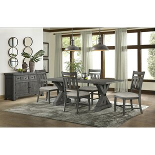 Tandy 5 Piece Solid Wood Dining Set