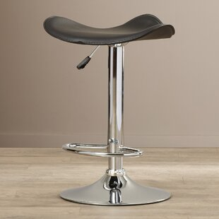 Mateyka Swivel Adjustable Height Bar Stool by Orren Ellis