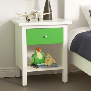 Arwood 1 Drawer Nightstand by Loon Peak