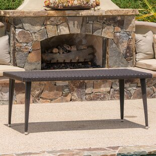 Malta Long Outdoor Wicker Dining Table