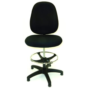 46.5 Upholstered Seat Drafting Chair by Symple Stuff Wonderful