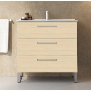 Shugart 800mm Free-standing Single Vanity Unit By Belfry Bathroom