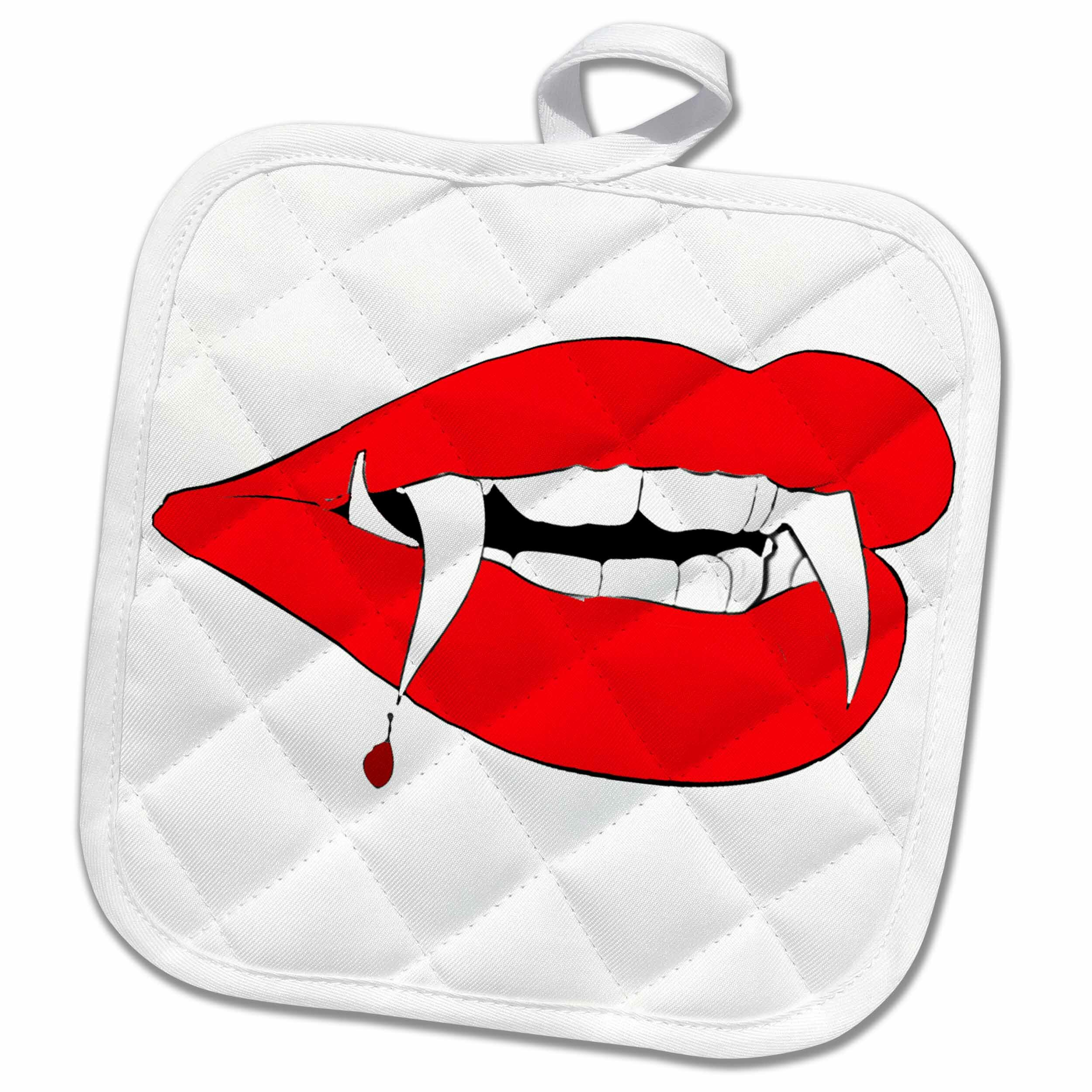 3drose Vampire Teeth Potholder Wayfair