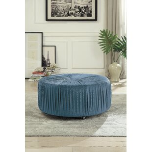 Doster Cocktail Ottoman by Charlton Home
