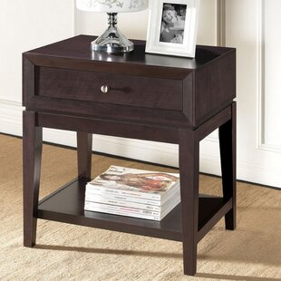 Pesina Modern 1 Drawer Nightstand