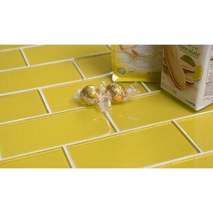 Yellow subway tile Bathroom Premium 3 11dresdenplinfo Yellow Backsplash Tile Youll Love Wayfair
