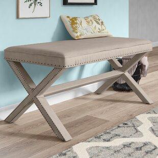 Lawrey Upholstered Bench By Rosalind Wheeler
