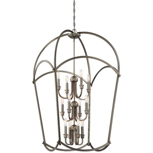 Maughan 12-Light Foyer Pendant