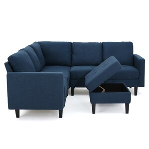 Bayard Modular Sectional  sc 1 st  AllModern : denim sectional couch - Sectionals, Sofas & Couches