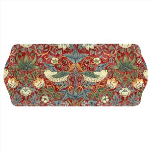 William Morris Strawberry Thief Sandwich Serving Tray