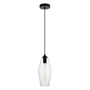 Wrought Studio Mullinix 1-Light Cone Pend..