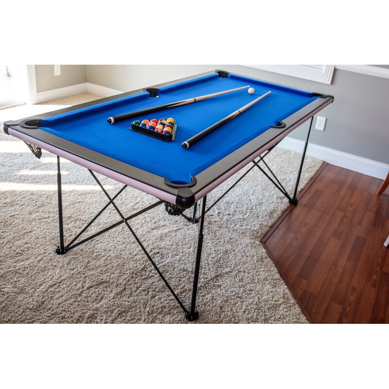 Triumph Sports USA Pop up Folding 6' Pool Table & Reviews | Wayfair