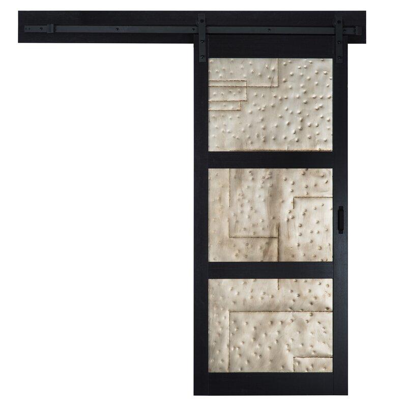 Solid Mdf Room Dividers Metal Interior Barn Door Reviews Allmodern