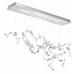 Swarovski Crystalon 3-Light LED Cluster Pendant