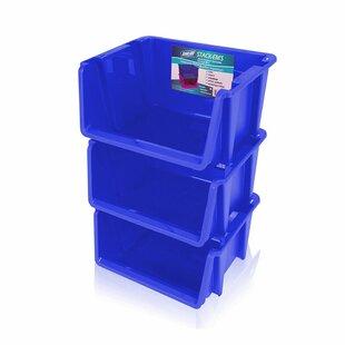 Affordable Price Stack 'Ems- Stackable Storage Bin (Set of 3) ByRebrilliant