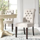 Ali Tufted Upholstered Side Chair (Set of 2) by Lark Manor