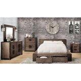 Rudden Queen 4 Piece Bedroom Set by Loon Peak
