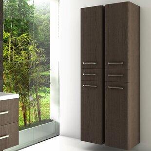 Tuttle 172 X 40cm Wall Mounted Tall Bathroom Cabinet By Ebern Designs