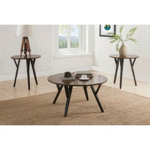 Winfred 3 Piece Coffee Table Set by Brayden Studio