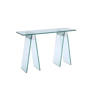 Gumm Glass Console Table