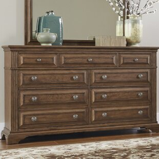 Huddleston 9 Drawer Double Dresser By Loon Peak