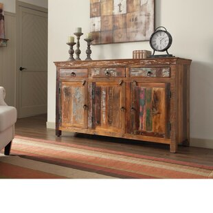 Whitehall Street Well Made Wooden 3 Door Accent Cabinet