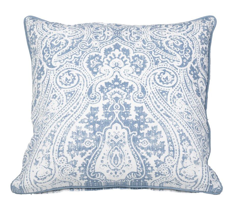 Toph Vintage Paisley Throw Pillow