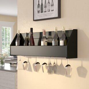 Klatt 18 Bottle Wall Mounted Wine Rack by..