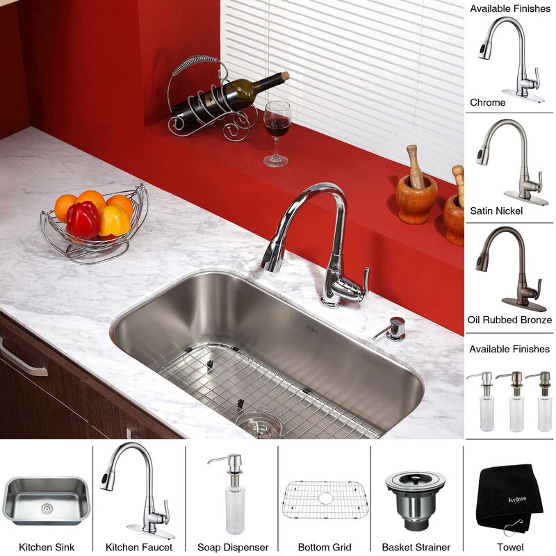 Kraus kitchen combos 315 x 1838 undermount kitchen sink with kitchen combos 315 x 1838 undermount kitchen sink with faucet and soap dispenser workwithnaturefo