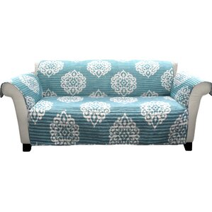 Three Posts Stroudsburg Box Cushion Sofa Slipcover Image