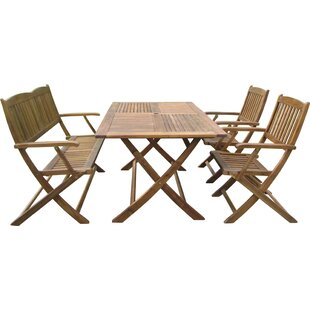 Harkless 4 Piece Dining Set