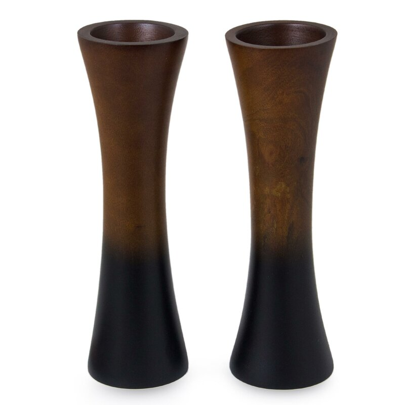 Novica Thai Trumpets Mango Wood Vase Wayfair