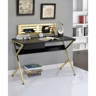 Keeter Modern Home Office Writing Desk by Mercer41 Best #1