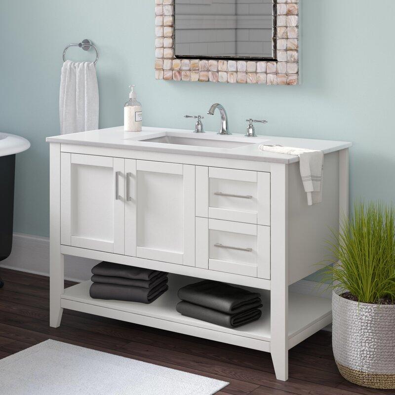Beachcrest Home Caoimhe 42 Single Bathroom Vanity Set Reviews Wayfair