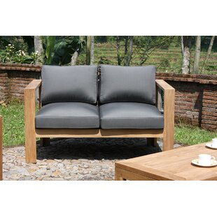 FeliciaLoveseat with Cushions by Union Rustic
