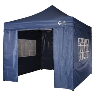 Lawrence 3m X 3m Stainless Steel Pop-Up Gazebo With Sidewalls By Sol 72 Outdoor