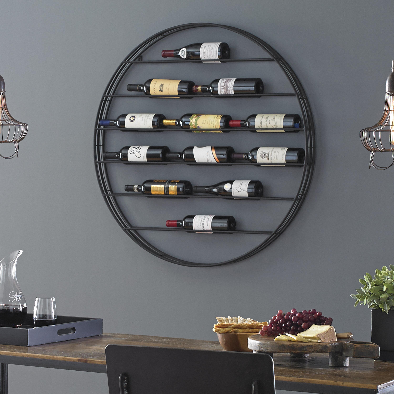 Wall Mounted Wine Racks Free Shipping Over 35 Wayfair