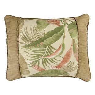 Emily Natural Breakfast Cotton Lumbar Pillow
