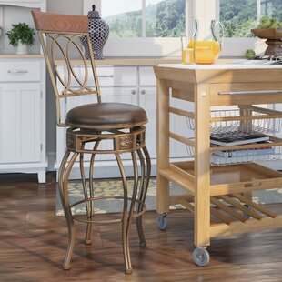 Best Reviews Hanaford 30 Swivel Bar Stool by Alcott Hill Reviews (2019) & Buyer's Guide