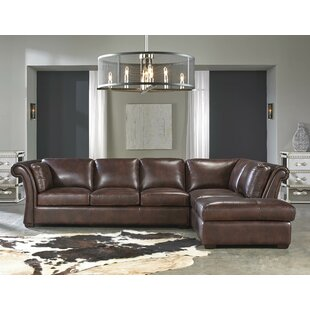 Angelina Leather Sectional