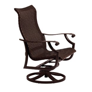 Tropitone Montreux Swivel Patio Dining Chair